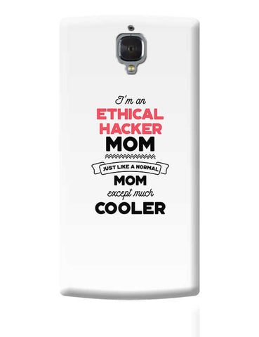 I'm A Speed Skater Mom, Just Like A Normal Mom Except Way Cooler | Gift for Speed Skater OnePlus 3 Covers Cases Online India