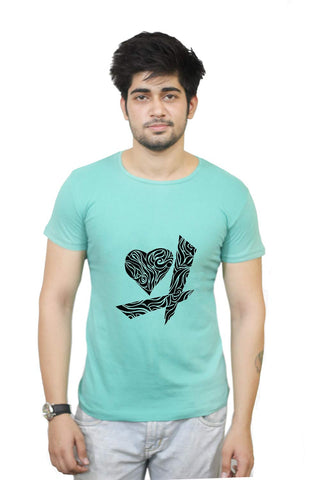 Buy Funny T-Shirts Online India | Black Heart T-Shirt Funky, Cool, T-Shirts | PosterGuy.in