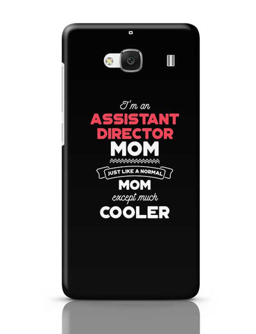 I'm A Social Worker Mom, Just Like A Normal Mom Except Way Cooler | Gift for Social Worker Redmi 2 / Redmi 2 Prime Covers Cases Online India