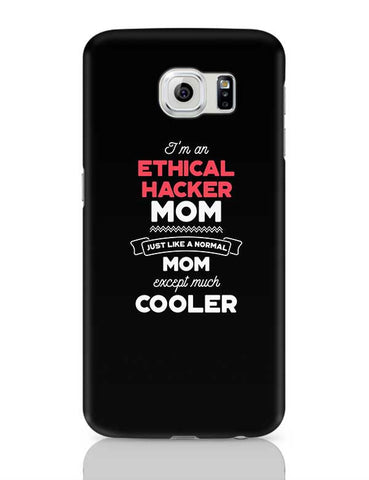 I'm A Speed Skater Mom, Just Like A Normal Mom Except Way Cooler | Gift for Speed Skater Samsung Galaxy S6 Covers Cases Online India