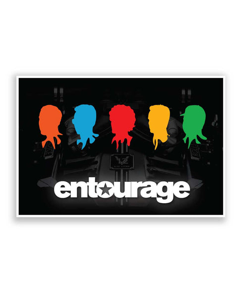 Buy TV Posters Online | Entourage Fan Art Poster | PosterGuy.in