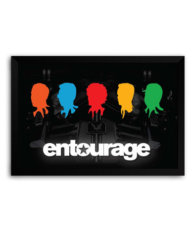 Framed Poster | Entourage Fan Art Matte Laminated Framed Poster PosterGuy.in