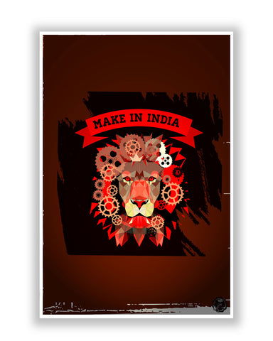 Buy Art Posters Online | Make in India Poster | PosterGuy.in