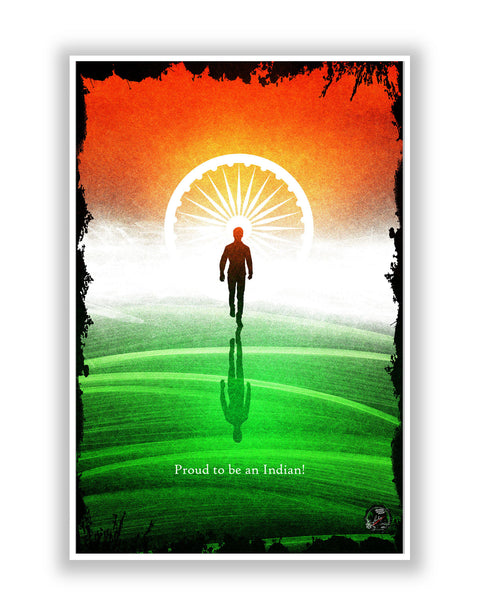 Buy Art Posters Online | Proud Indian Poster | PosterGuy.in