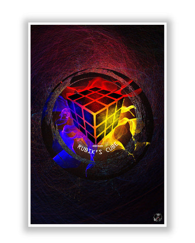 Buy Art Posters Online | Rubik's Cube Poster | PosterGuy.in