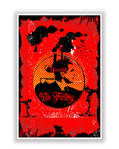 Buy Art Posters Online | War Factory Poster | PosterGuy.in