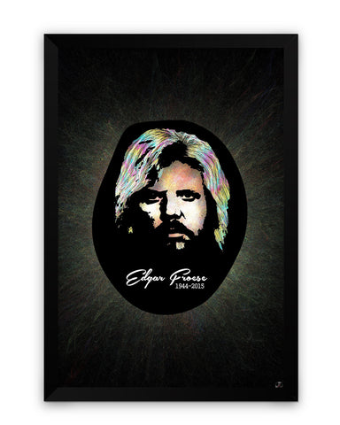 Framed Poster | Edgar Froese Matte Laminated Framed Poster PosterGuy.in