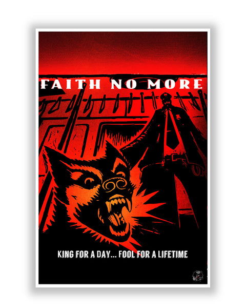Buy Music Posters Online | Faith No More Poster | PosterGuy.in