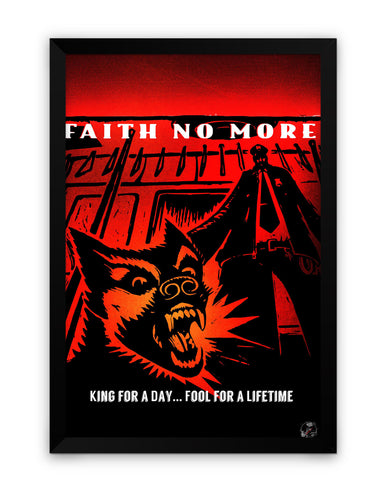Framed Poster | Faith No More Matte Laminated Framed Poster PosterGuy.in