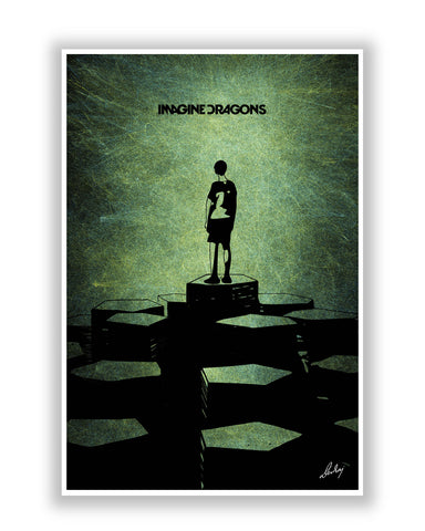 Buy Music Posters Online | Imagine Dragons Poster | PosterGuy.in