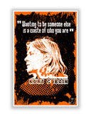 Buy Music Posters Online | Kurt Cobain Nirvana Poster | PosterGuy.in