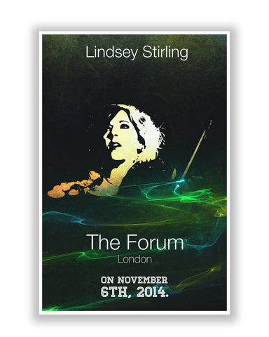 Buy Music Posters Online | Lindsay Striling Quote Poster | PosterGuy.in