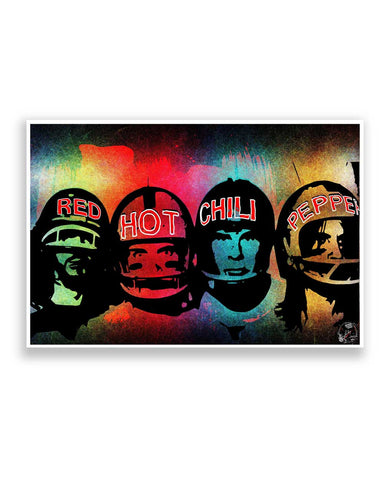 Buy Music Posters Online | Red Hot Chili peppers  Poster | PosterGuy.in