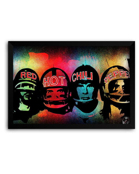 Framed Poster | Red Hot Chili peppers  Matte Laminated Framed Poster PosterGuy.in