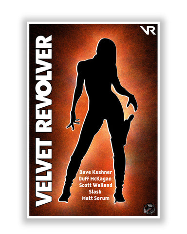 Buy Music Posters Online | Velvet Revolver Rock Band Poster | PosterGuy.in