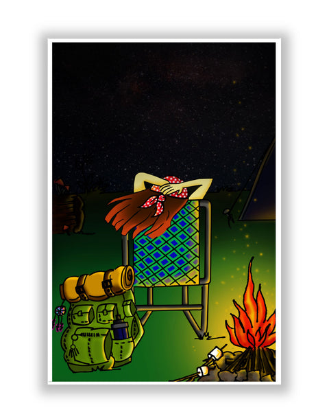 Buy Art Posters Online | Bonfire Night Poster | PosterGuy.in