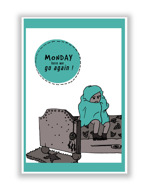 Buy Art Posters Online | Mondays Poster | PosterGuy.in
