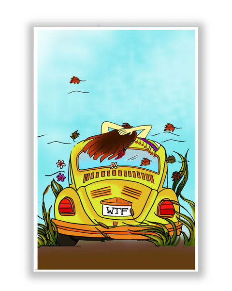 Buy Art Posters Online | WTF  the three magical letters Poster | PosterGuy.in