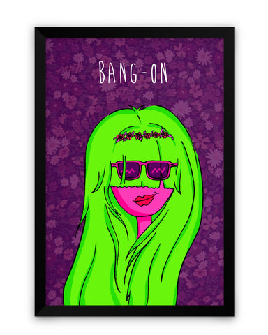 Framed Poster | Bang On Matte Laminated Framed Poster PosterGuy.in