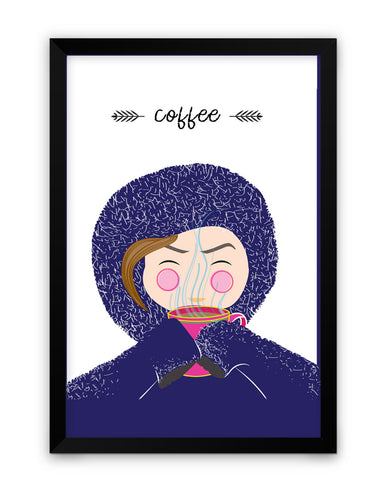 Framed Poster | Coffee Matte Laminated Framed Poster PosterGuy.in