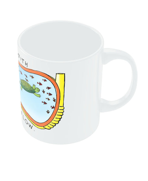 Go With the flow Coffee Mug Online India