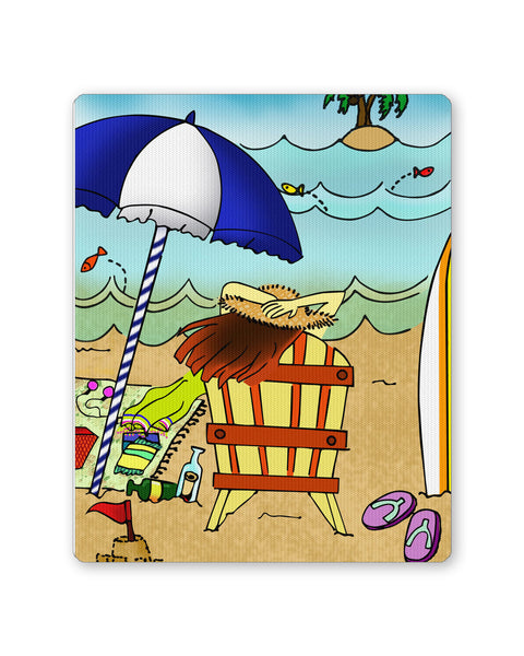 Mouse Pads | Beach Adventure Mouse Pad Online India | PosterGuy.in