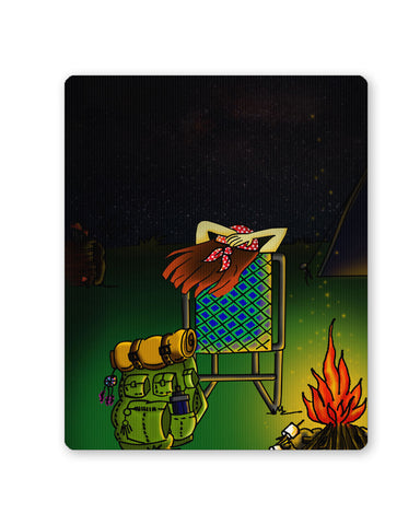 Mouse Pads | Bonfire Night Mouse Pad Online India | PosterGuy.in