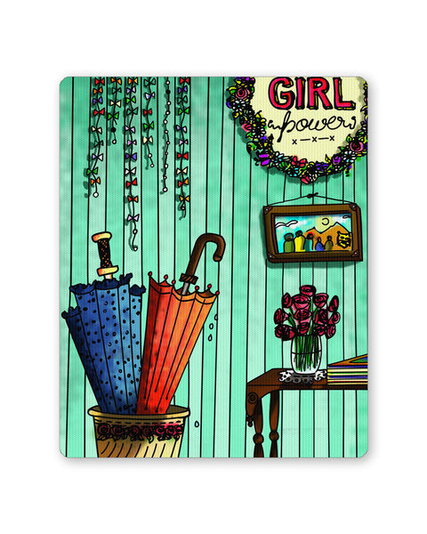 Mouse Pads | Girl Power Mouse Pad Online India | PosterGuy.in