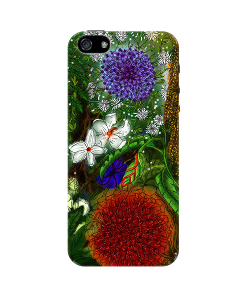 Summer Wild Flowers iPhone 5/5S Case