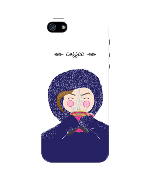Coffee Mornings iPhone 5/5S Case