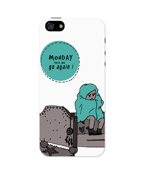Mondays iPhone 5/5S Case