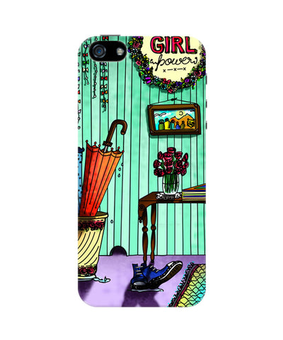 Girl power iPhone 5/5S Case