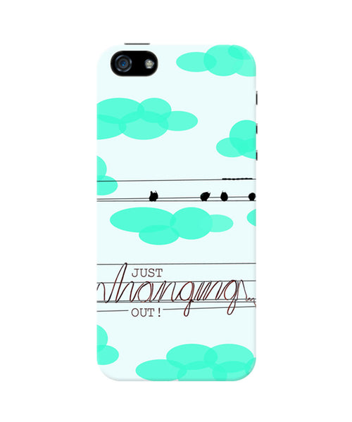 Just hanging Out iPhone 5/5S Case