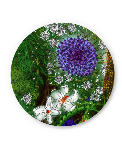 Summer Wild Flowers Fridge Magnet Online India