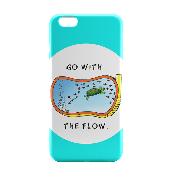 iPhone 6 Case & iPhone 6S Case | Go With the flow iPhone 6 | iPhone 6S Case Online India | PosterGuy