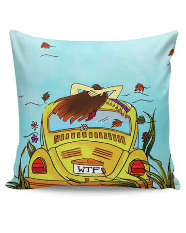 PosterGuy | WTF The Three Magical Words Cushion Cover Online India