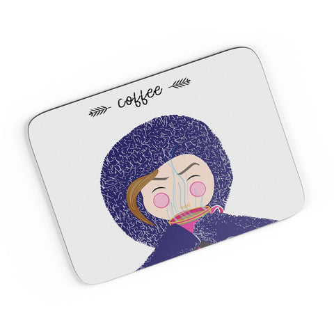 Winter Coffee  A4 Mousepad Online India