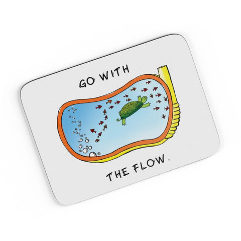 Go With the Flow A4 Mousepad Online India