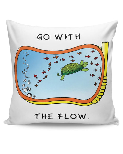 PosterGuy | Go With the Flow Cushion Cover Online India