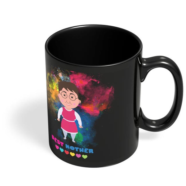Best Mother  Black Coffee Mug Online India