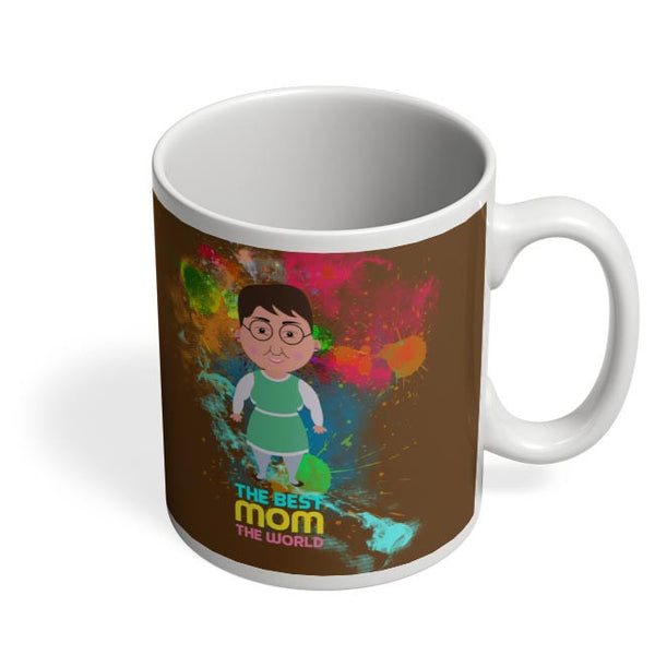 Best Mom World Graphic Art Coffee Mug Online India
