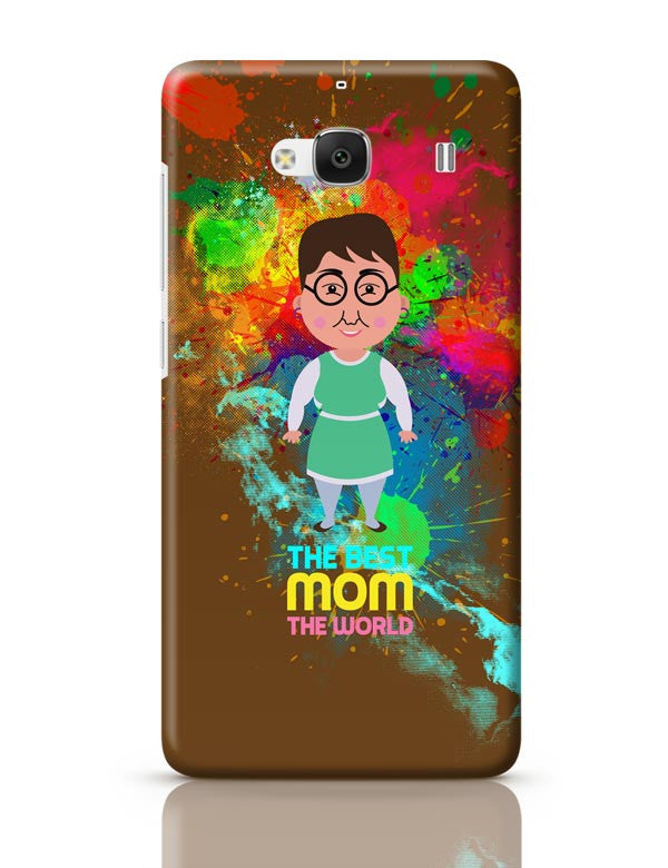new styles 6a024 cf7b5 Best Mom World Graphic Art Redmi 2 / Redmi 2 Prime Covers Cases