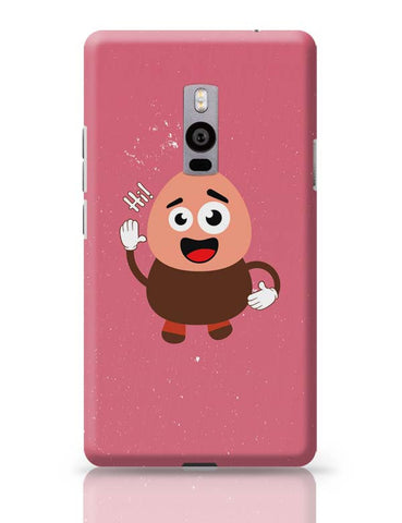 Boy Saying Hi Cartoon OnePlus Two Covers Cases Online India