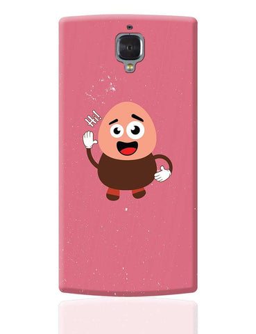 Boy Saying Hi Cartoon OnePlus 3 Cover Online India