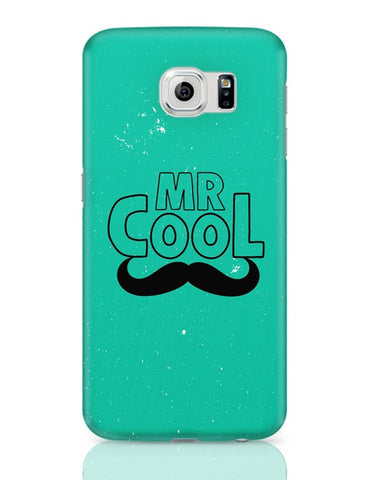 Mr Cool Moustache Samsung Galaxy S6 Covers Cases Online India