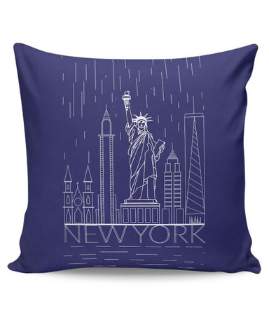 New York Cushion Cover Online India