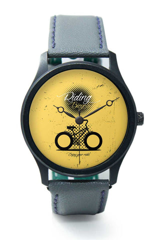 Wrist Watches India | Riding Bicycle Premium Wrist Watch  Online India.