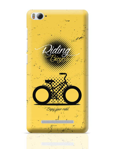 Riding Bicycle Xiaomi Mi 4i Covers Cases Online India