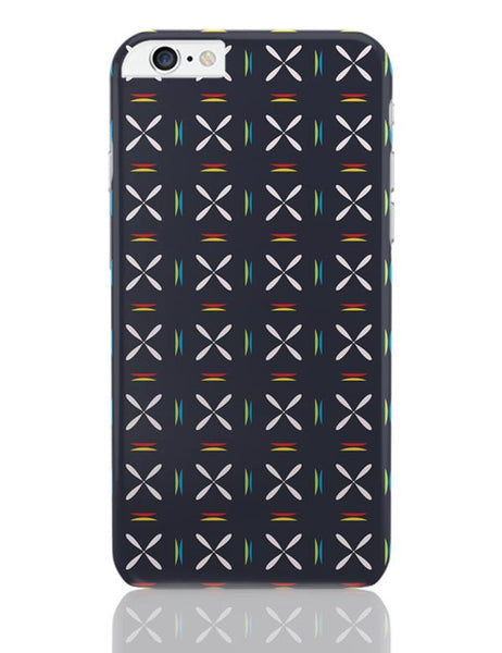 Geometric floral design iPhone 6 Plus / 6S Plus Covers Cases Online India