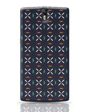 Geometric floral design OnePlus One Covers Cases Online India